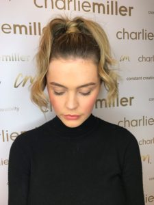 Charlie Miller 60s Fashion Week Hairstyle