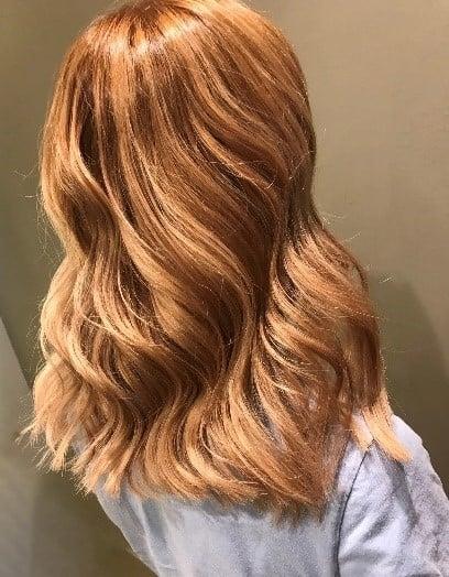 Autumn hair inspiration - copper