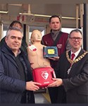We're supporting The St John & the City Defibrillator Project