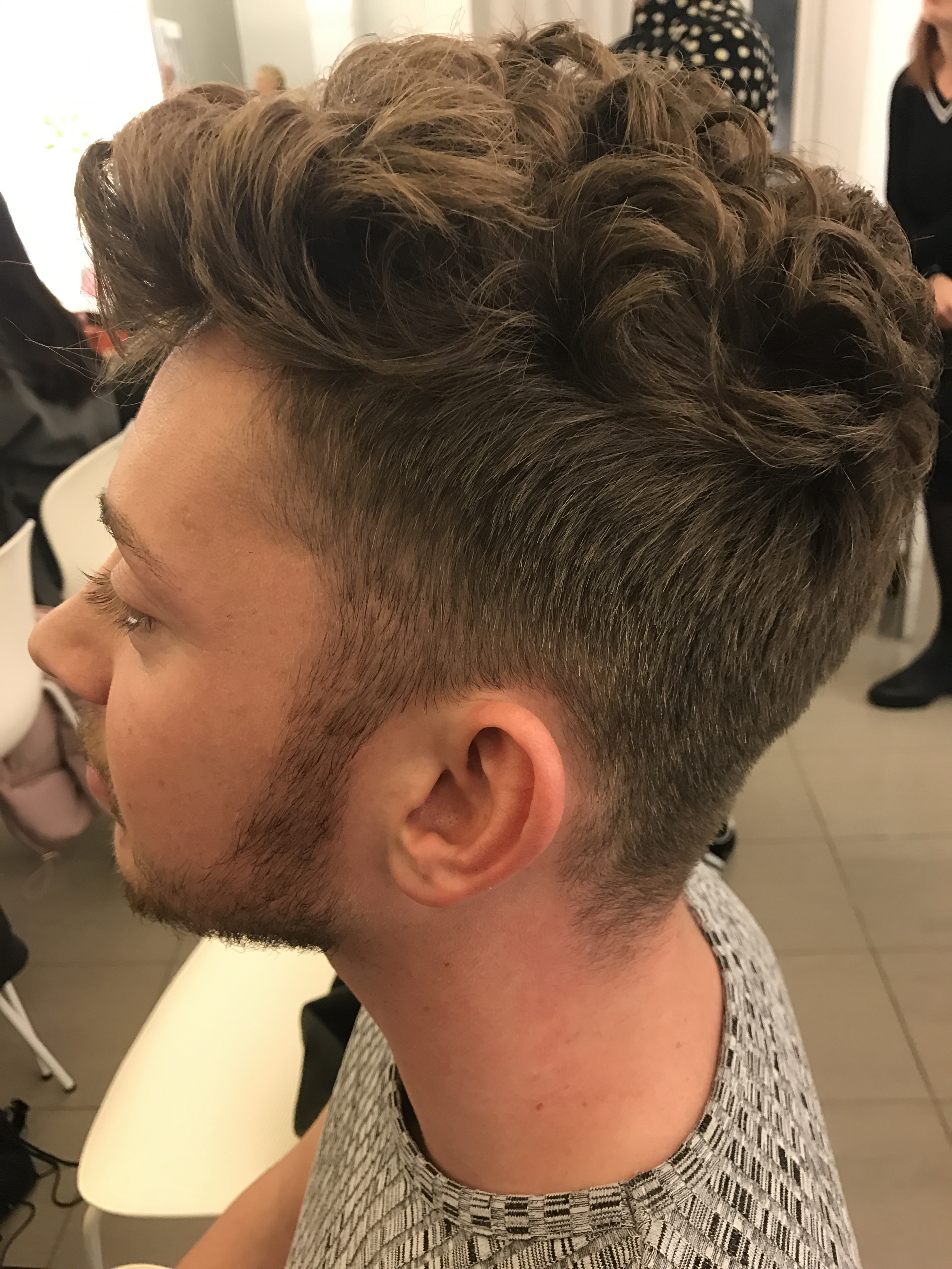 Straight hair perm guys - Gone Are The Days Of The Tightly Wound Kevin Keegan Bubble Perm Or Justin Timberlake S Crunchy Spirals From 2000 Think More Of The Rugged Jon Snow From