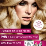 'LADIES DAY' GIVE-AWAY – BUBBLES & BLOW DRIES FOR TWO!