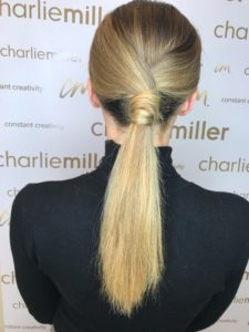 Charlie Miller Fashion Week Hair