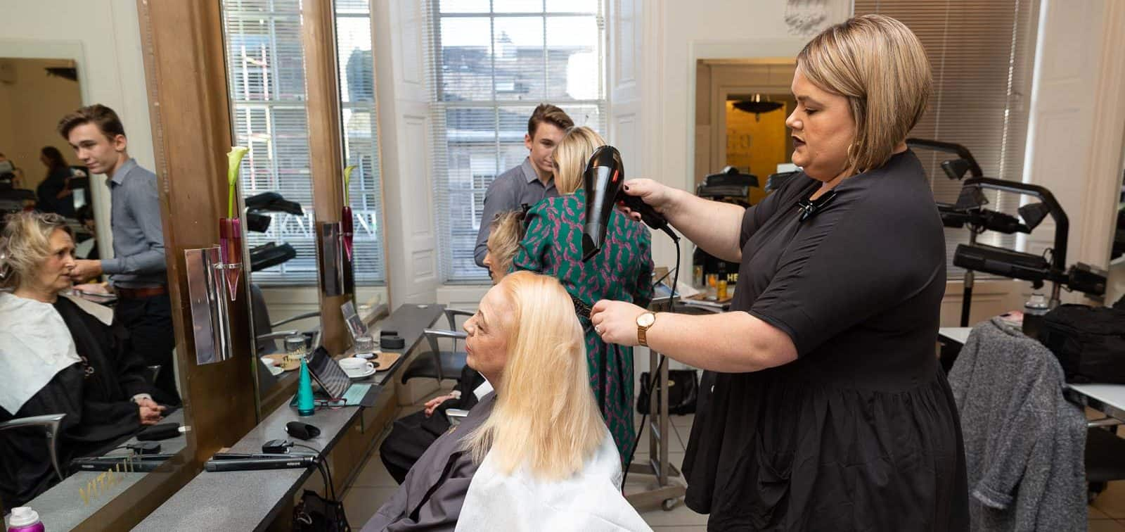 Stafford Street Salon Manager, Elle Craik